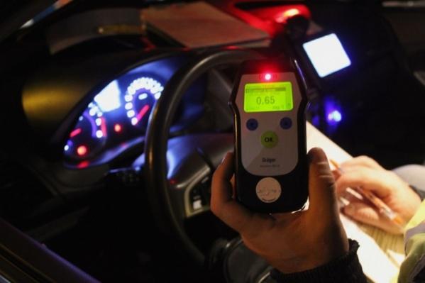 54-летний житель Лесосибирска 5 раз попадался пьяным за рулем