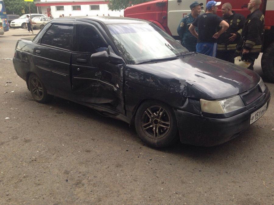 ВОмске при столкновении 2-х ВАЗов пострадали трое детей и шофёр