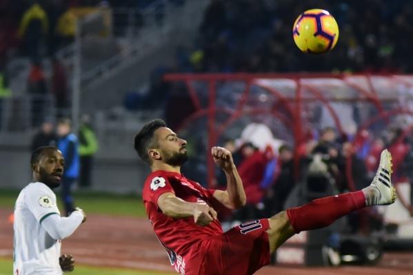 ФК «Енисей» запустила голосование за лучший гол сезона