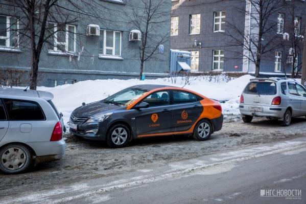 В Красноярск планируют завезти 50 машин, чтобы проверить спрос на прокат