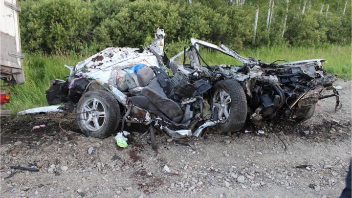 Задержали водителя, по чьей вине под Ишимом погибли двое взрослых и 11-месячная девочка