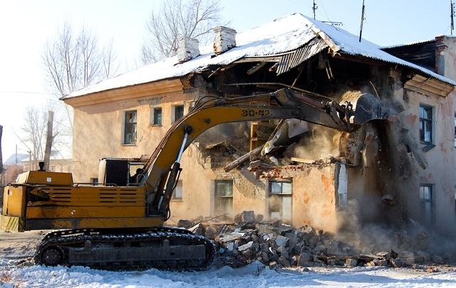 В Кургане снесут семь аварийных домов