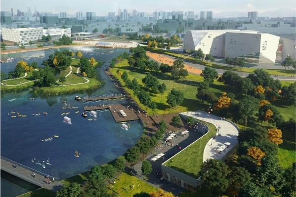 В начале ноября состоится очередная презентация парка «Притяжение»