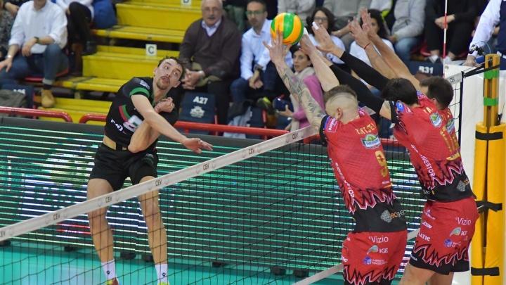 Волейбол: ВК «Локомотив» на выезде проиграл команде из Италии