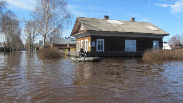 В Башкирии из затопленной деревни эвакуировали троих человек