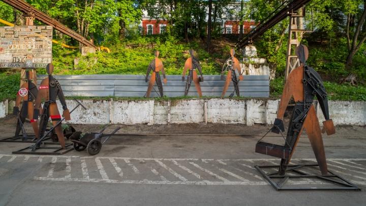 Завод Шпагина открыл территорию для прогулок. Что можно здесь увидеть?