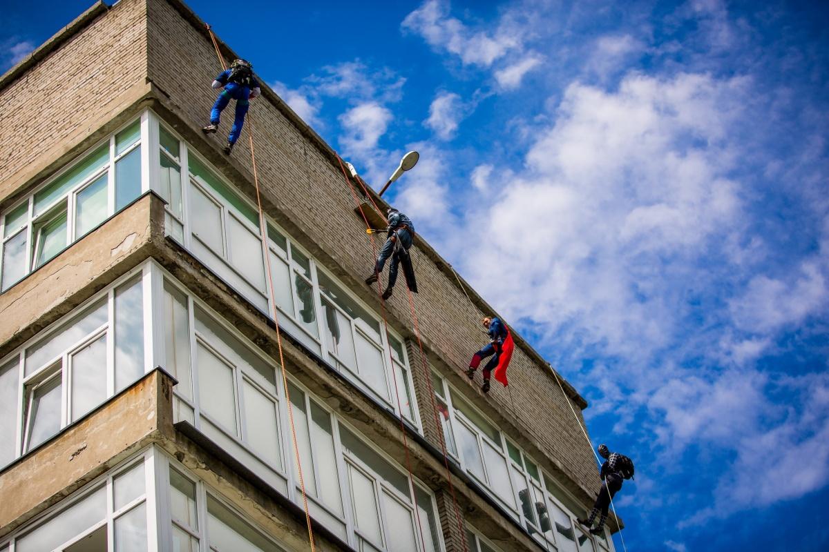 Акция началась примерно в 14 часов — погода была отличной.Фото Александра Ощепкова