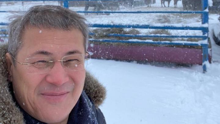 Радий Хабиров сравнил башкир с лошадьми