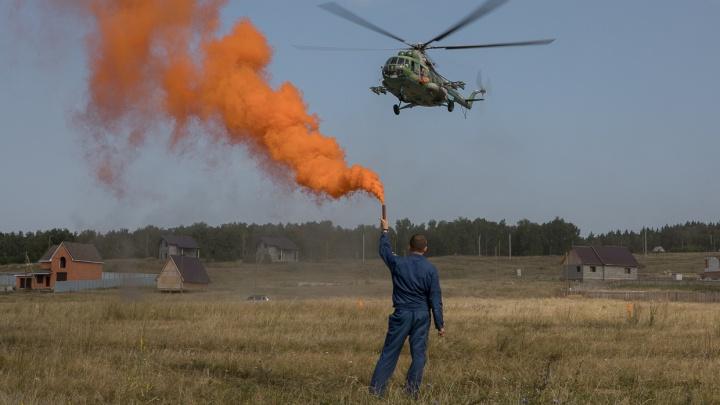 К поискам ребёнка, пропавшего под Челябинском, подключили вертолёт Ми-8