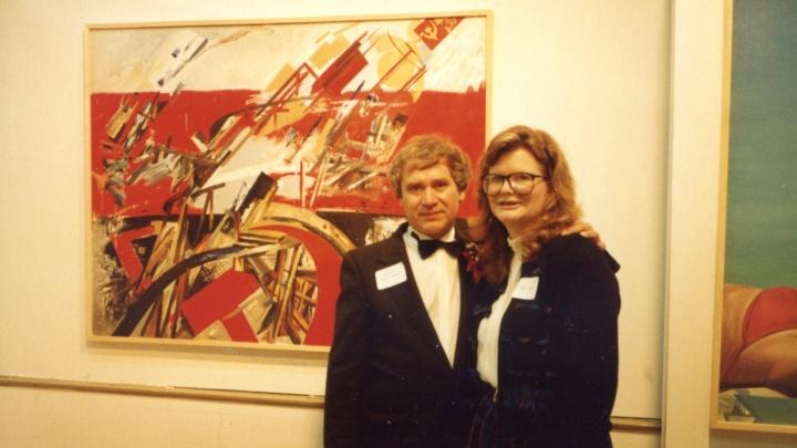 В Вашингтоне открылась выставка — новосибирец узнал в ней свои картины, пропавшие 30 лет назад