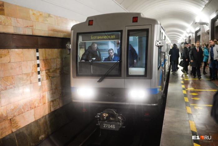 Пока со второй веткой полная неясность, Екатеринбург закупает новые поезда, поскольку подвижной состав изношен