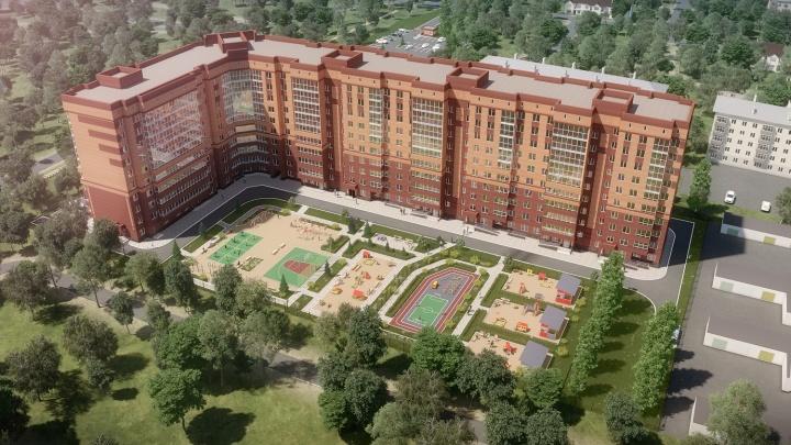 Большие семьи выбирают новый жилой комплекс с детскими садами и школами рядом