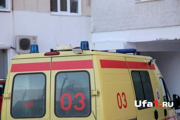Пострадавшего монтажника доставили в больницу