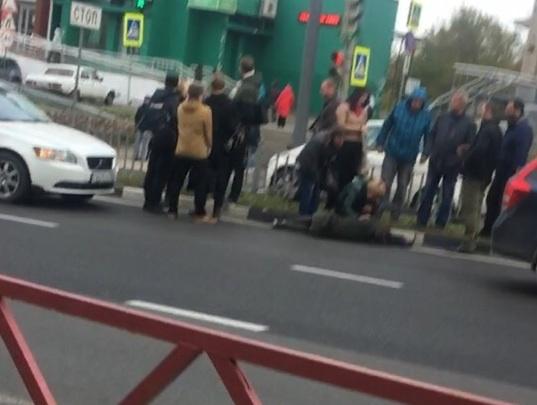 Девочка, которую сбили на Московском проспекте, перебегала дорогу на красный