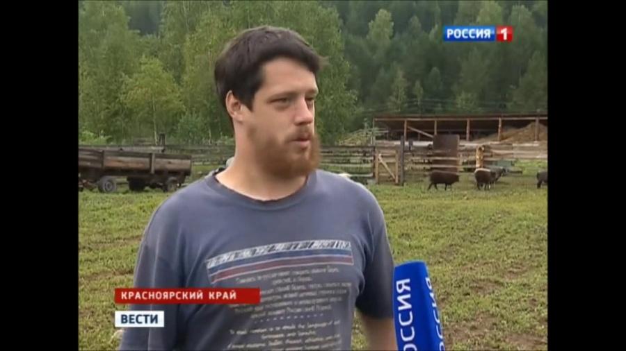 Американский фермер до переезда на Алтай трудился на севере Красноярского края