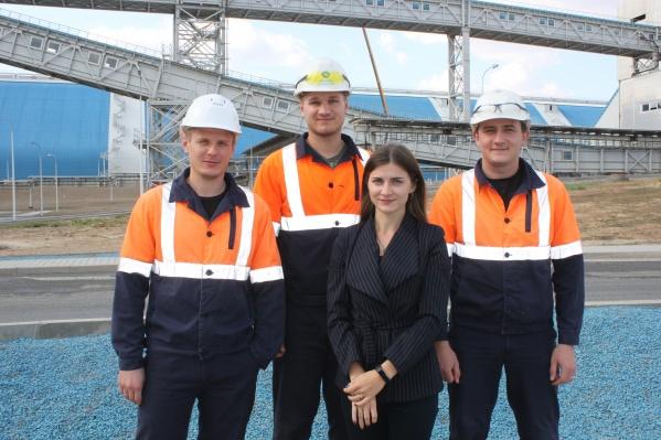Молодые сотрудники вносят значительный вклад в работу предприятия