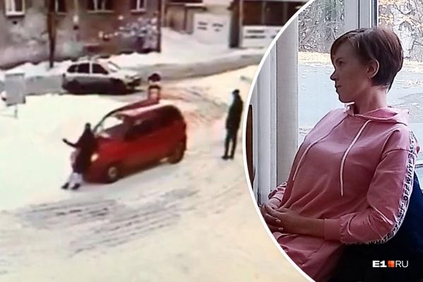 За избиение женщины и катание ее на капоте Елена Шулятикова получила 12 тысяч рублей штрафа