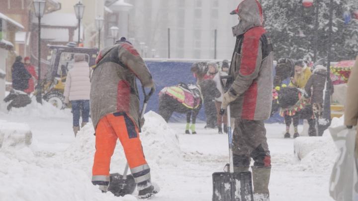 «Необходимо жестче работать»: снегопад в конце ноября стал сюрпризом для коммунальщиков Архангельска