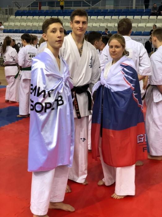 Никита Сергеев, Илья Поляков иМарина Романенко