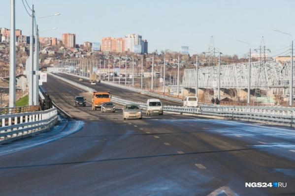 Через новую дорогу жители Академгородка смогут быстро проехать в центр города