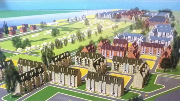 На берегу Волги выстроят огромный микрорайон с двумя детскими садами: смотрим проект