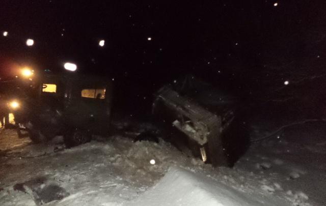 Подробности: в разорвавшемся пополам УАЗе погиб парень из Самарской области
