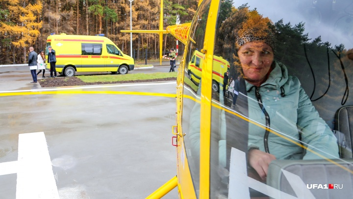 В Уфе протестировали в действии вертолет санитарной авиации