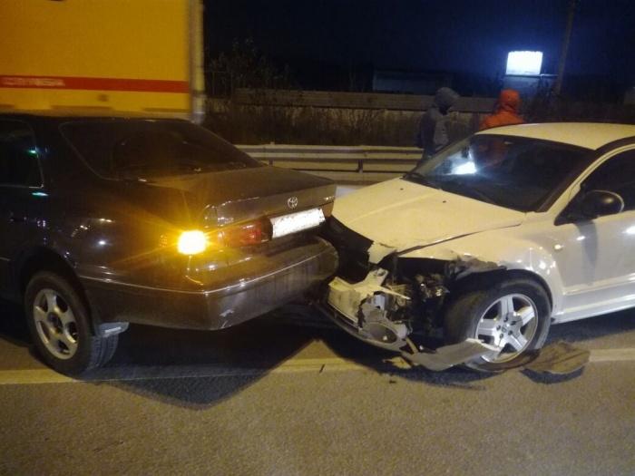 Авария случилась около посёлка Элитный вечером 18 октября