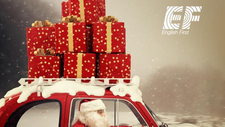 EF English First научит детей писать письма Деду Морозу