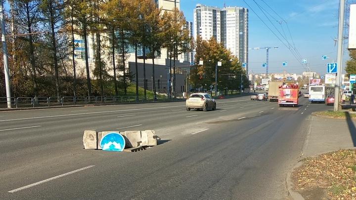 «Сработали подушки, разбило бампер»: ямы на дорогах Челябинска взяли новую глубину