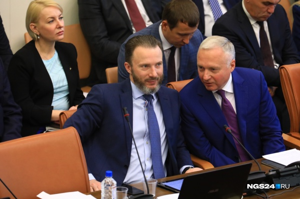 Сергей Пономаренко и Юрий Лапшин
