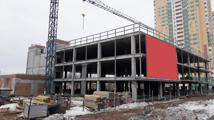 Стало известно, что строят напротив ТРК «Космопорт»