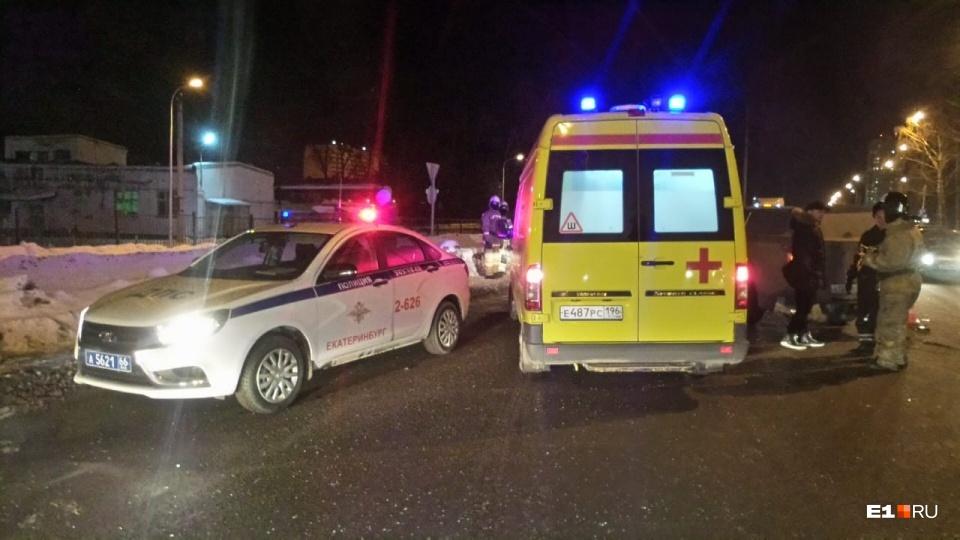 В аварии пострадали водитель и все пассажиры Lada