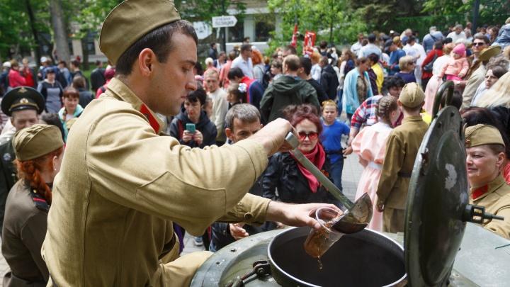 Поесть каши и станцевать вальс: Комсомольский сад Волгограда отметит День Победы на привале