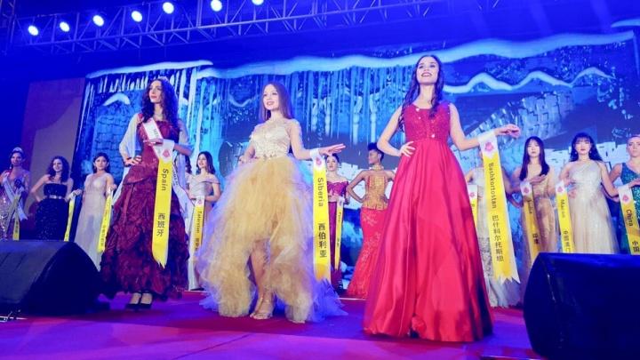 Студентка из Красноярска вошла в топ-7 мирового конкурса красоты