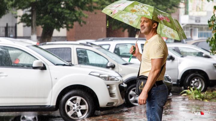 Повтор «аномальных» ливней?: в выходные Волгоградскую область зальет дождями
