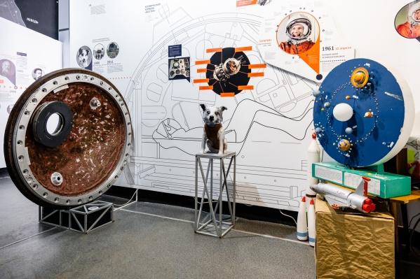В музее Чайковского бережно хранят крышку люка космического корабля, на котором прилетела Звездочка