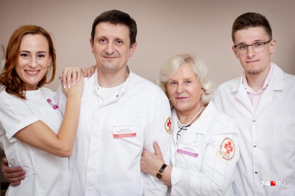 В медицину пришли не только дети Зинаиды Василенко, но и внук