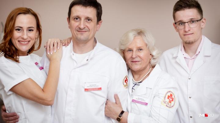 «Не стесняюсь советоваться с детьми»: гастроэнтеролог из Челябинска вырастила целую династию врачей