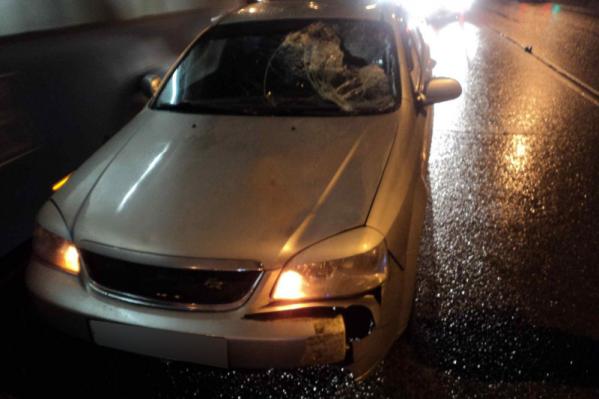 Пешеход после столкновения с автомобилем умер в больнице