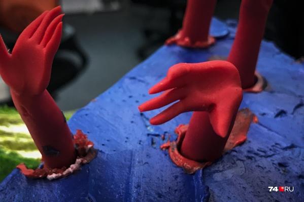 Мастера-кондитеры могут сделать съедобными даже руки
