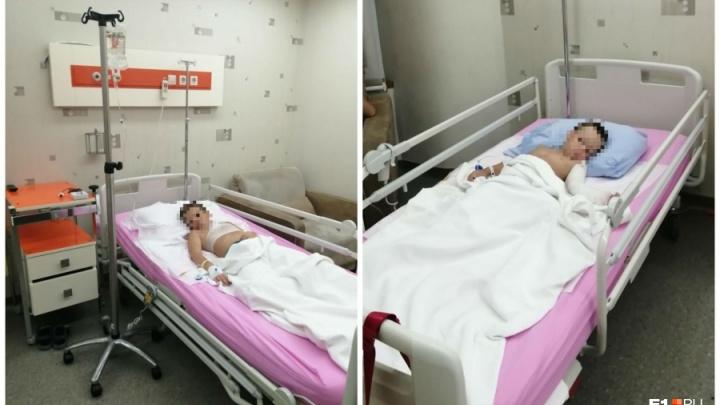 Екатеринбуржец, детей которого облили горящим маслом, рассказал, когда их выпишут из больницы