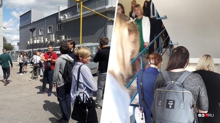 В Самаре эвакуировали бизнес-центр «Башня»