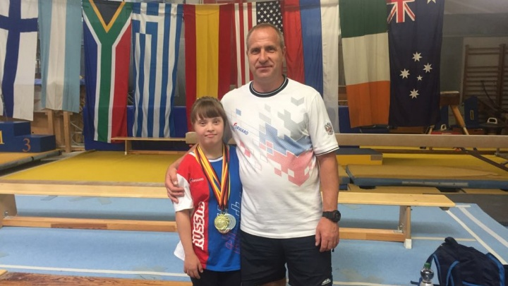 «Утешала соперниц»: челябинская гимнастка с синдромом Дауна привезла четыре медали с чемпионата мира