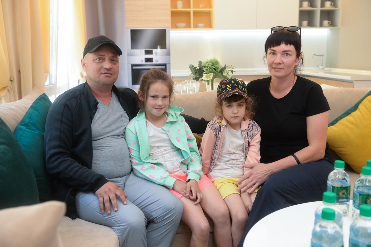 Семья Лаптевых с нетерпением ждет переезда в новый дом