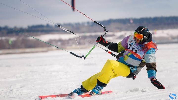 Четверо екатеринбуржцев привезли с Кубка мира по сноукайтингу шесть медалей