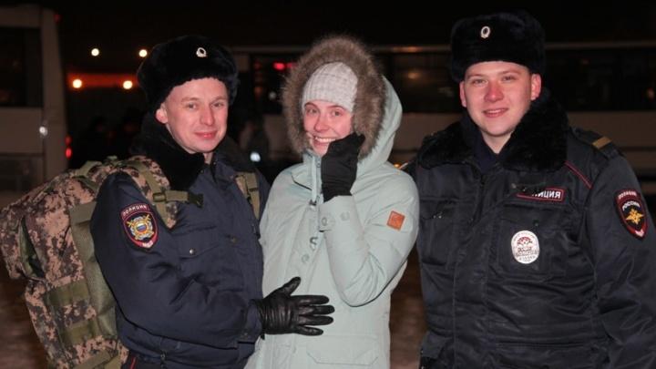 Перед Новым годом больше 100 свердловских полицейских уехали на Северный Кавказ