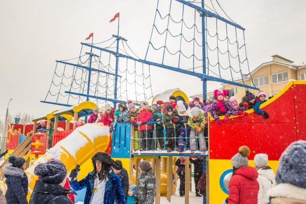 Детские мечты о приключениях, полных неожиданностей, сбылись на празднике