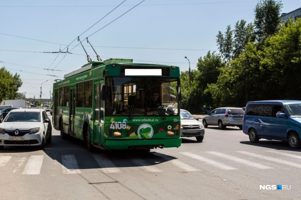Троллейбусы нового маршрута начнут ходить с 3 сентября