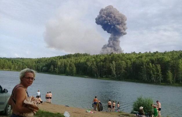 Склад с боеприпасами взорвался под Ачинском